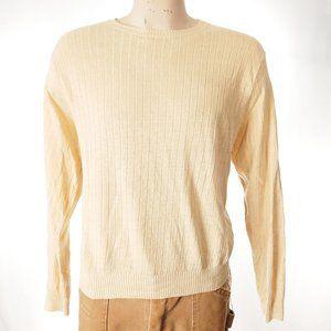 Polo Ralph Lauren Linen Sweater Sz XL EUC